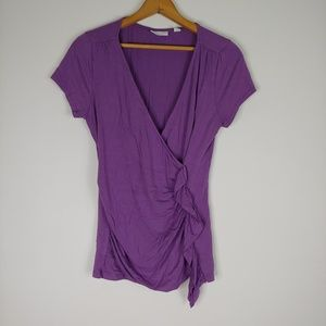 New York and Co. Purple Blouse